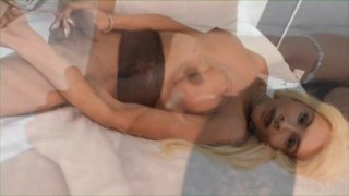 Streaming porn video still #3 from Black Tranny Whackers 28