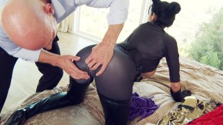 Streaming porn video still #4 from Big Tits In Uniform 14