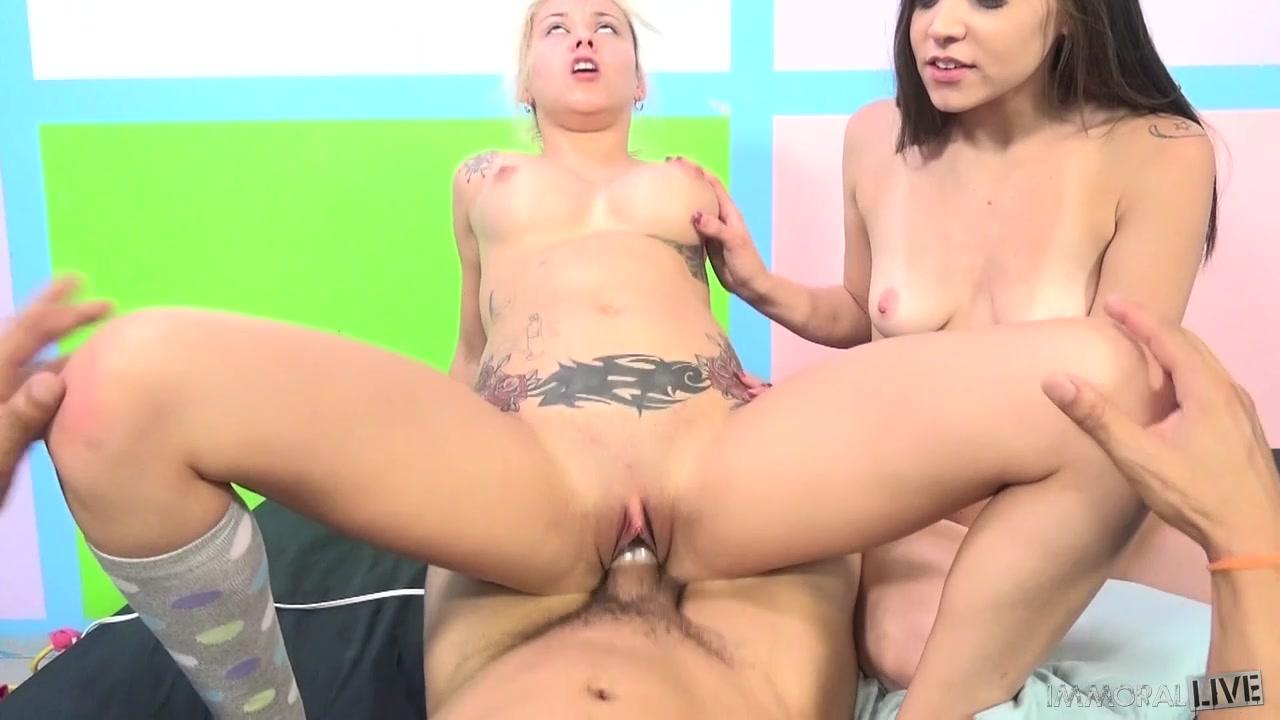 Smoking Threesome with Tiffany Star & Marsha May.