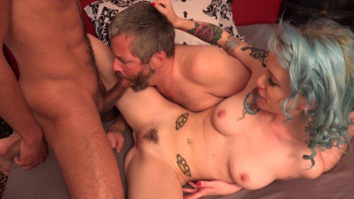 Streaming porn video still #2 from Coerced Bi Cuckold #4: Open Wide