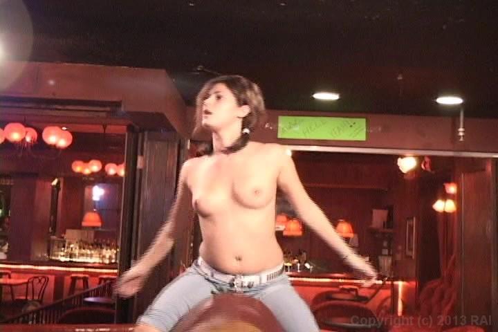 The purpose Naked girl on mechanical bull remarkable, valuable