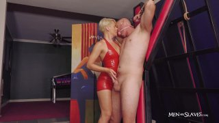 Streaming porn video still #8 from Beg To Cum