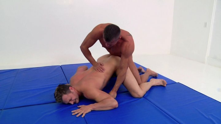 Streaming porn video still #1 from Wrestle To Fuck