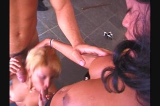 Streaming porn video still #5 from Joey Silvera's She-Male Road Trip