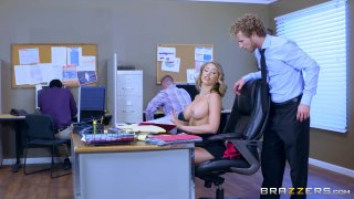 Streaming porn video still #1 from Overworked Titties 4