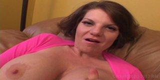 Kayla Quinn Swallows a Cum Load After a Interracial Fuck