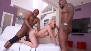 Streaming porn video still #3 from Double Black Penetration 3