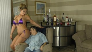 Streaming porn video still #2 from Mean Amazon Bitches 7