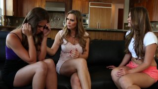 Streaming porn video still #1 from Lesbian Family Affair Vol. 2