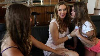 Streaming porn video still #2 from Lesbian Family Affair Vol. 2