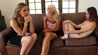 Streaming porn video still #3 from Lesbian Family Affair Vol. 2