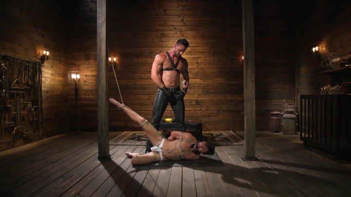 Streaming porn video still #4 from Bound Gods Vol. 3