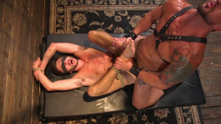 Streaming porn video still #6 from Bound Gods Vol. 3