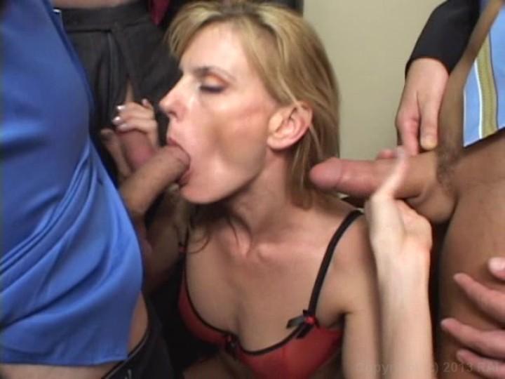 Bondage handjob porn