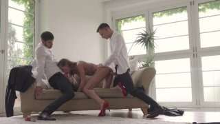 Streaming porn video still #7 from Perfect Threesomes 3