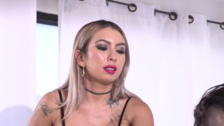 Streaming porn video still #6 from Strapdomme 3: Back To The Pegging
