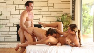Streaming porn video still #9 from Threesome Fantasies Fulfilled 4