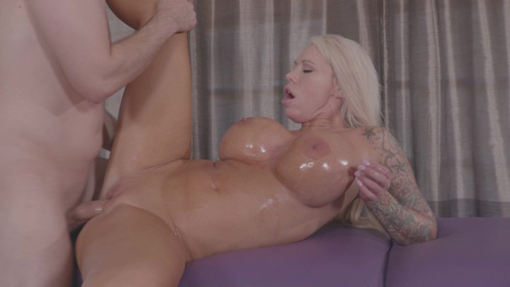 Streaming porn video still #3 from Busty MILF Massage