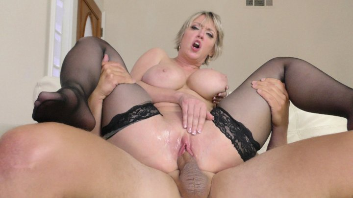 Streaming porn video still #2 from Big Tit Jerkoff Instructions 2