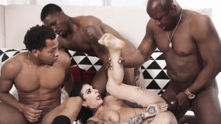 Screenshot #6 from Joanna Angel Gangbang: As Above So Below