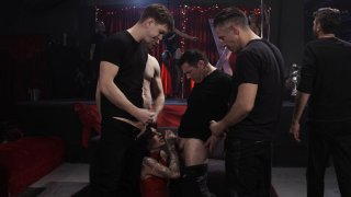 Screenshot #13 from Joanna Angel Gangbang: As Above So Below
