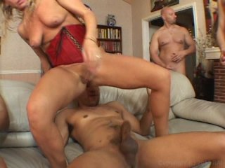 Streaming porn video still #3 from Gangbanging Cougars