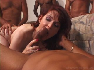 Streaming porn video still #9 from Gangbanging Cougars