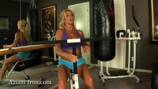 Streaming porn video still #1 from Aziani's Iron Girls 5
