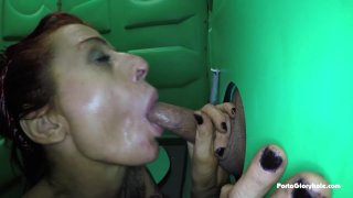 Streaming porn video still #3 from Real Public Glory Holes 7: MILF Edition
