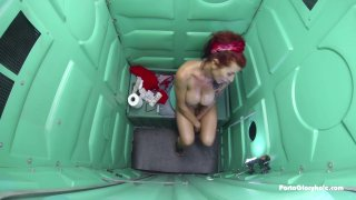 Streaming porn video still #8 from Real Public Glory Holes 7: MILF Edition