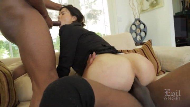 Streaming porn video still #1 from Interracial Threesomes
