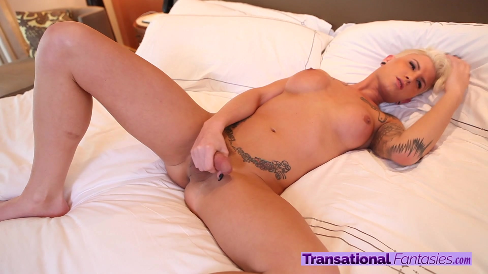 Watch White Tranny Danny Bendochy And Christian Doggystyle Sex