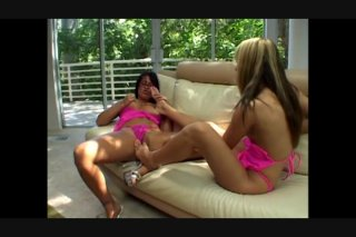 Streaming porn video still #4 from Lesbian Girlfriends