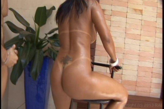 Streaming porn video still #4 from Big Wet Brazilian Asses! 6