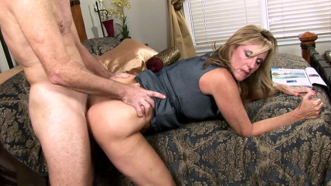 Milf sexy mom forced fucked by a man in public