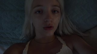 Streaming porn video still #4 from I Want Daddy's Creampie Inside Me