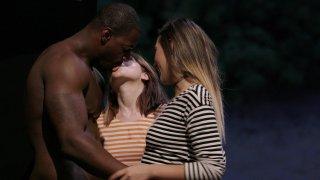 Streaming porn video still #2 from Interracial Threesomes