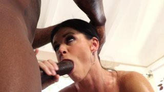 Streaming porn video still #4 from Interracial MILF Massage