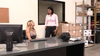 Dana Vespoli and Jessa Rhodes Eat Each Other Out in the Office