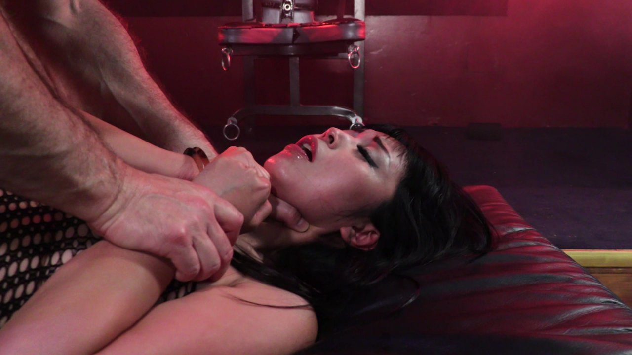 She's naked! Bound domination dvds