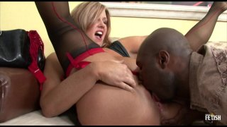 Streaming porn scene video image #1 from Curvaceous Cougar Cannot Resist Black Dick