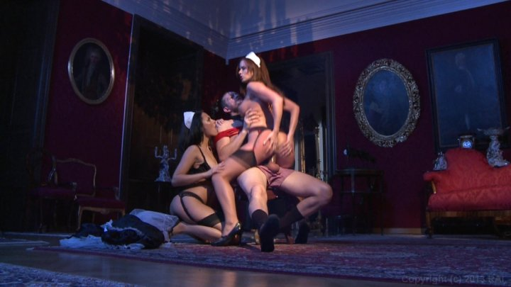 Streaming porn video still #1 from French Maid Service (Soubrettes Services) (French)