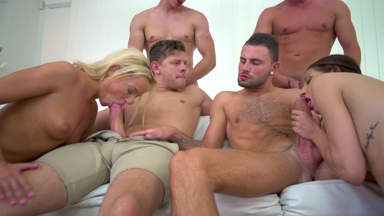 Think, bixexual orgy videos
