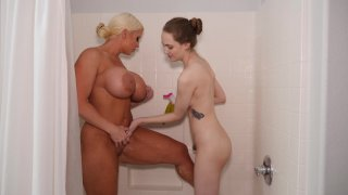 Streaming porn video still #1 from Mother-Daughter Exchange Club Part 52