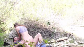 Streaming porn video still #9 from Butt Naked In Nature 2