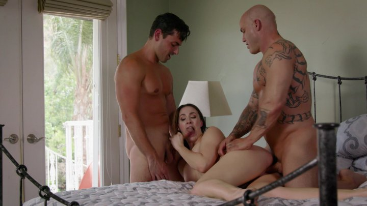 Streaming porn video still #1 from Battle of the Babes: Chanel Preston vs Britney Amber