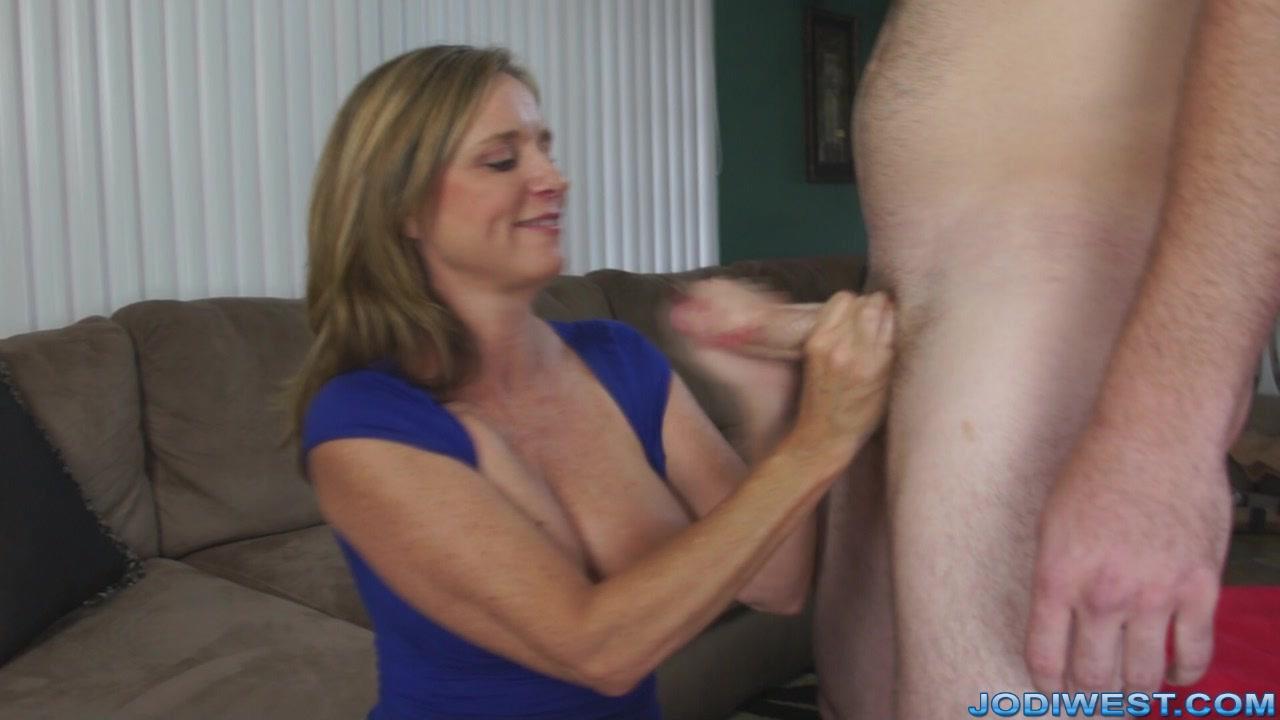 Big Tit Stepmom Handjob
