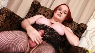 Streaming porn video still #8 from TS Cock Strokers 37