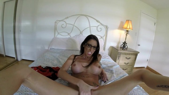Streaming porn video still #3 from Busty Brunette Playtime