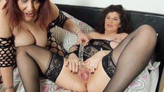Streaming porn video still #8 from Mature British Lesbians #5